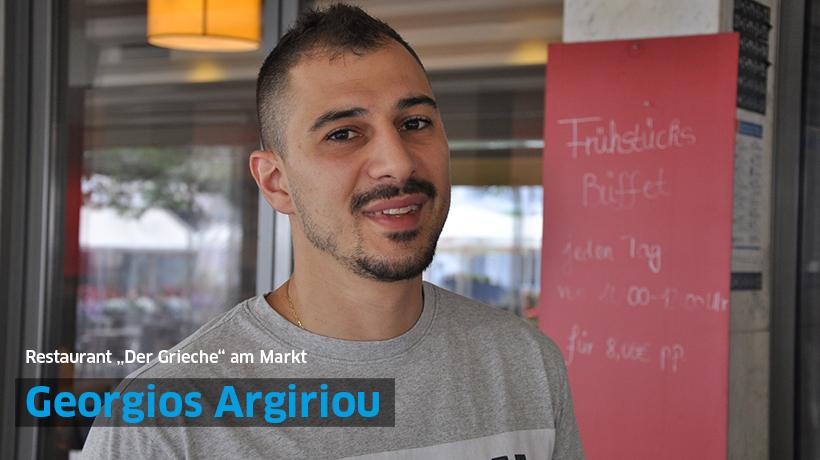 "Georgios Argiriou, Restaurant ""Der Grieche"" am Markt"