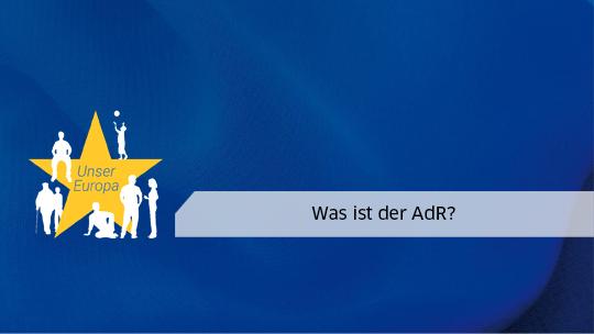 Was ist der AdR?