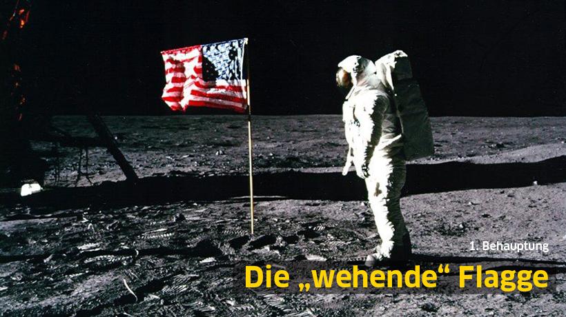 """1. Behauptung: Die """"wehende"""" Flagge"""